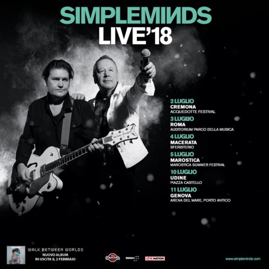 Simple Minds - Live'18